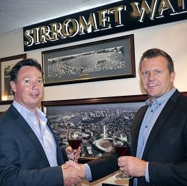 SIRROMET TOASTS TO CRICKET HISTORY
