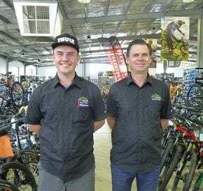 CYCLE STATION SHIFTS UP A GEAR