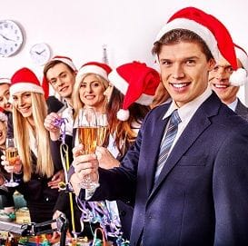 HIDDEN HAZARDS LURKING AT OFFICE CHRISTMAS PARTY
