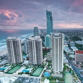 SURFERS PICKS UP ITS GAME AS OFFICE MARKET TIGHTENS