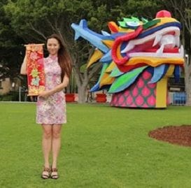 SYDNEY SUPERSIZES SELFIES FOR CHINESE NEW YEAR