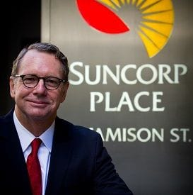 SUNCORP PROFIT DAMPENED BY NATURAL DISASTERS