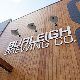 INSIDE BURLEIGH'S NEW MULTIMILLION-DOLLAR BREWERY
