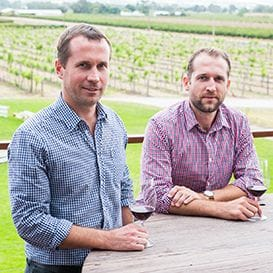 BROTHERS UNCORK THE NEXT WINE TREND