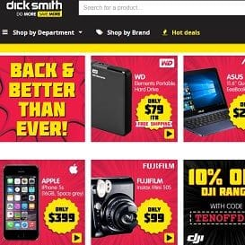 KOGAN RELAUNCHES DICK SMITH ONLINE STORE