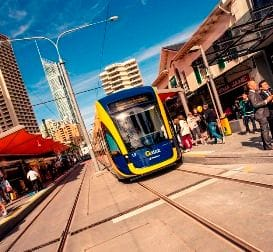 FULL STEAM AHEAD FOR COAST LIGHT RAIL