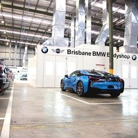 BMW BODYSHOP DRIVES INTO NEW BRISBANE LOCATION