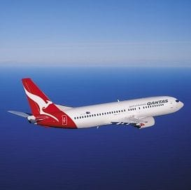 QANTAS FLIES A RECORD RESULT