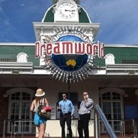 DREAMWORLD QUIET ON REOPENING WEEKEND
