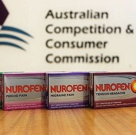 NUROFEN FALSE ADVERTISING FINE INCREASED TO RECORD AMOUNT