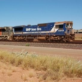 BHP'S IRON ORE OUTPUT AT RECORD HIGH, COPPER PRODUCTION DROPS