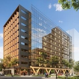 LENDLEASE AND IIG PARTNER TO BUILD BRISBANE'S NEW TIMBER TOWER