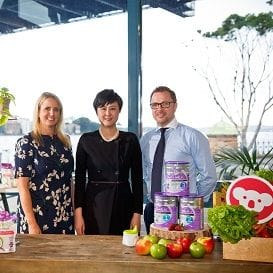 BUBS AUSTRALIA BOOSTS CHINESE PRESENCE, SHARES SURGE MORE THAN 13 PER CENT