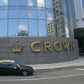CROWN'S BIG YEAR IMPACTED BY LOW TURNOUTS OF HIGH ROLLERS