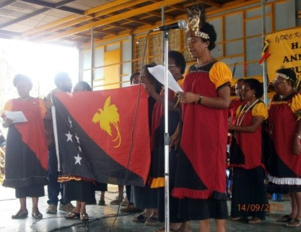PNG women raising funds
