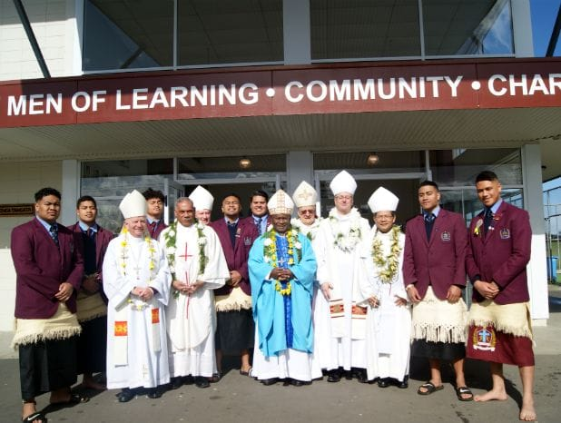 Visit from the Executive of the Oceania Catholic Bishops Conference, Mangere East