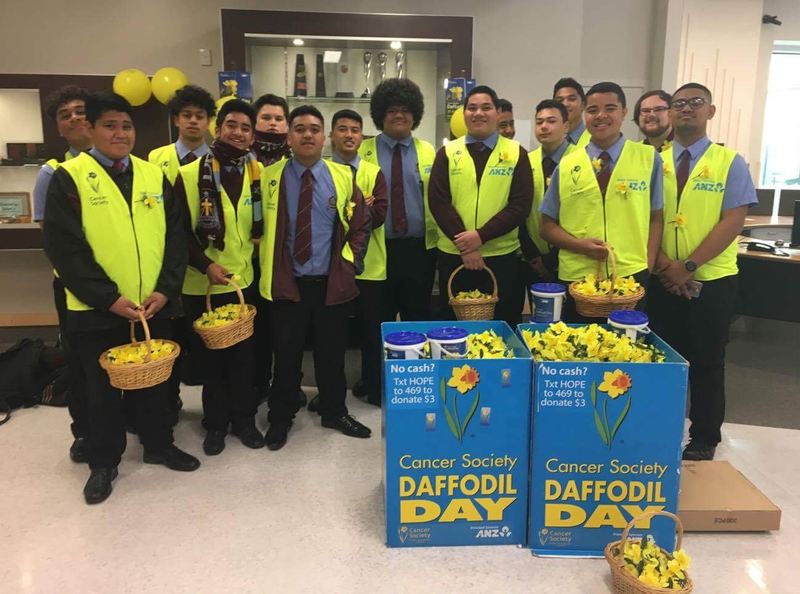 DLS Mangere East raise funds for Daffodil Day
