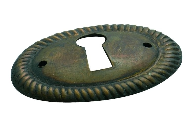 Escutcheon  Antique Brass3827