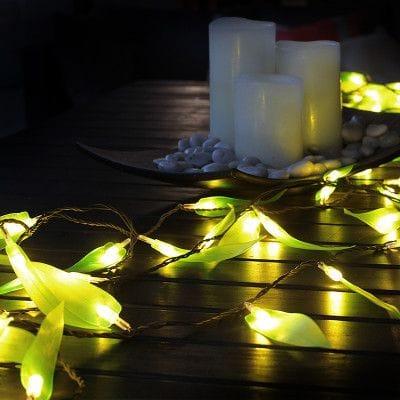Chain Electric Leaf Green LED