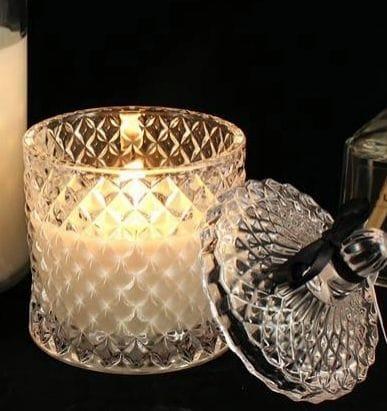 Deluxe Diamond Cut Jar - French Lavender