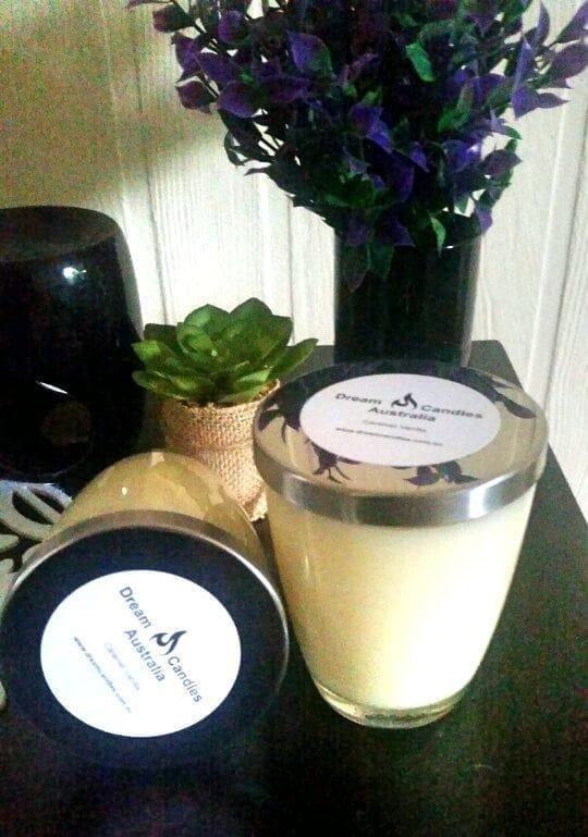 Wine Glass Candle - Grapefruit Vanilla