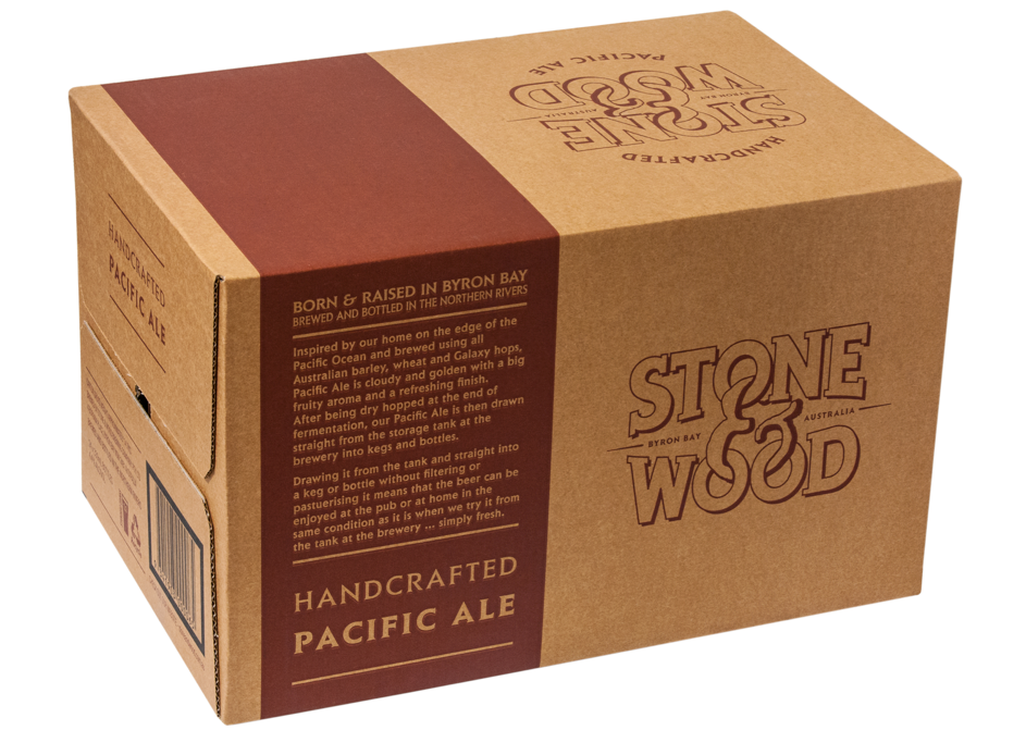 STONE & WOOD PACIFIC ALE 330ML CARTON