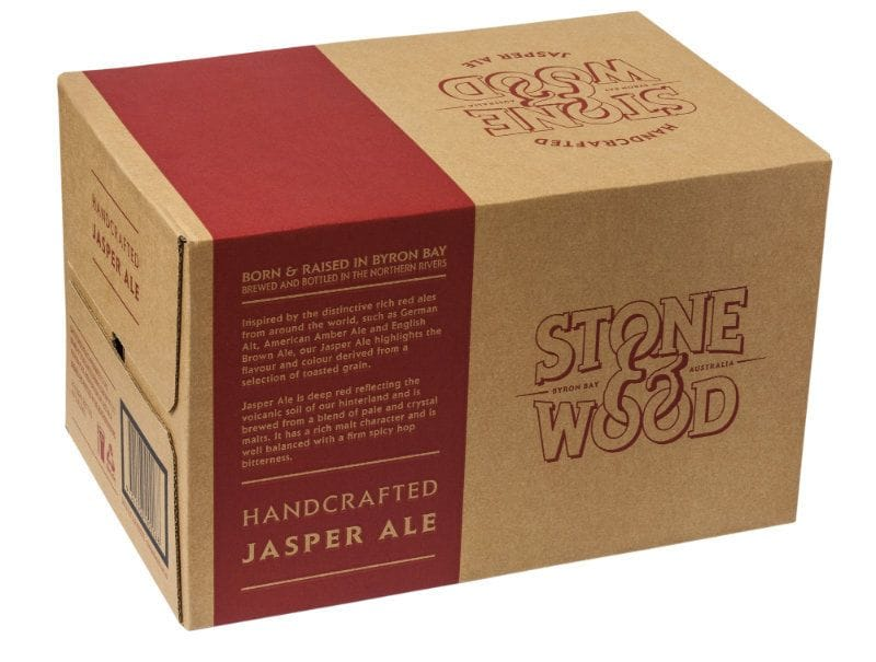 STONE & WOOD JASPER ALE 330ML CARTON