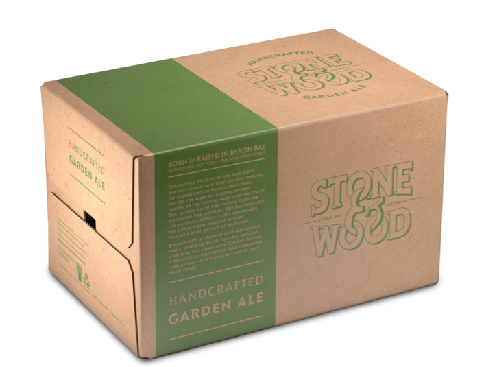 STONE & WOOD GARDEN ALE 330ML CARTON