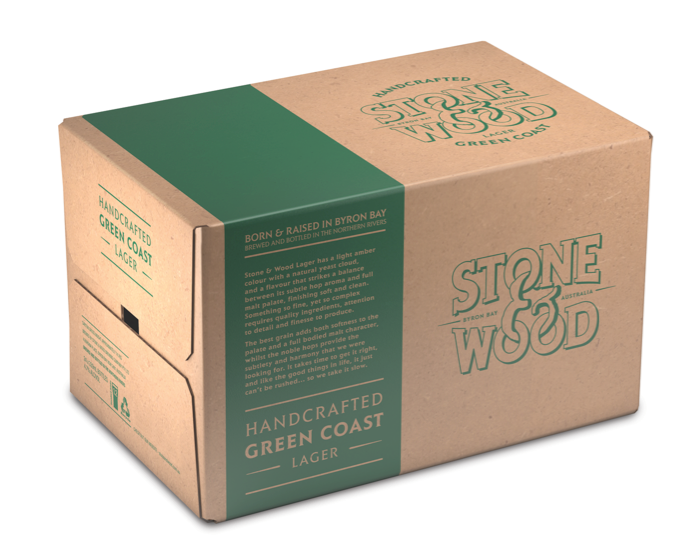 STONE & WOOD GREEN COAST 330ML CARTON