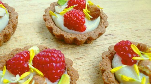 Taro Tartlets