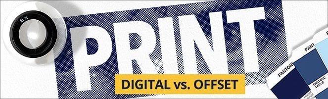 Offset Print vs Digital Print