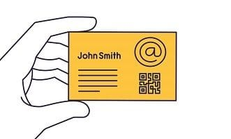Business cards worth holding on to