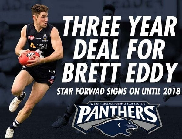 Brett Eddy Signs On Until 2018!