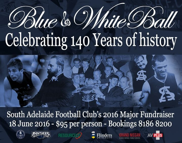 Blue & White Ball - Panthers 2016 Major Fundraiser!