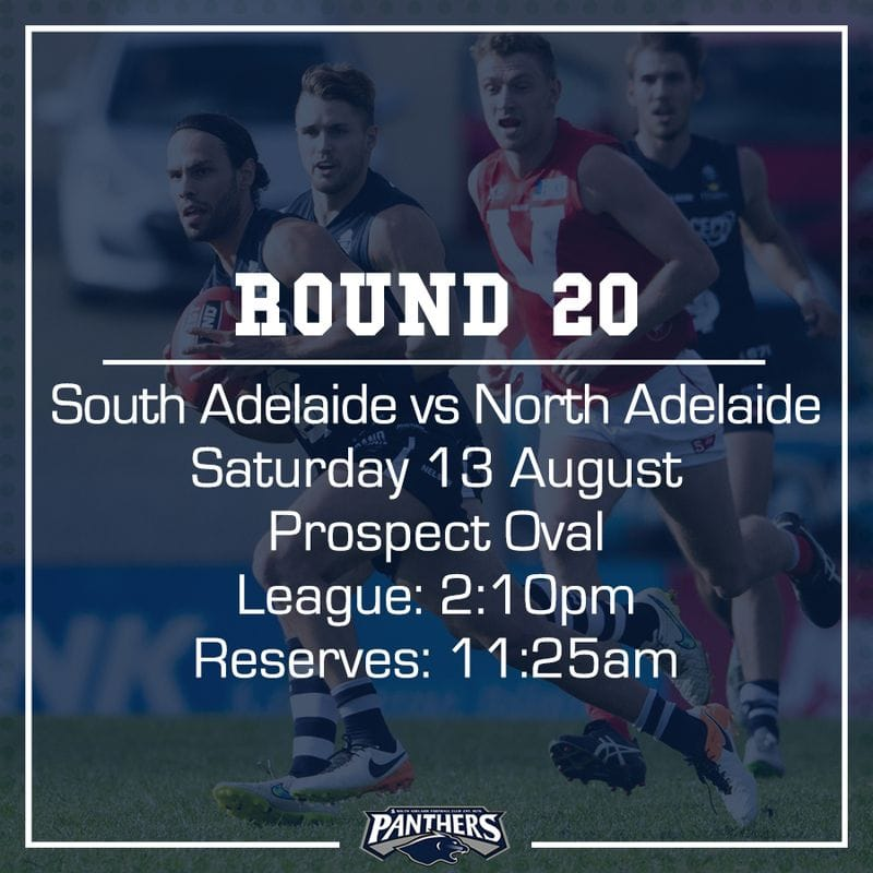 Round 20: South vs North - Teams