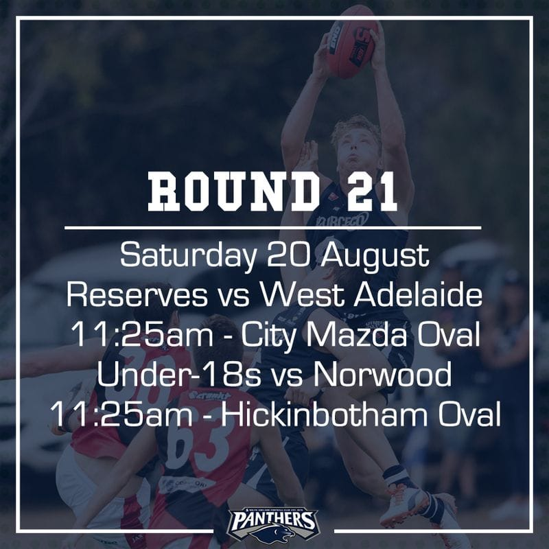 Round 21: Reserves and Juniors - Teams