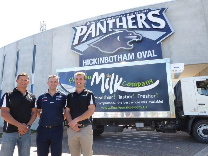 South Adelaide Welcome Fleurieu Milk Company to the Team