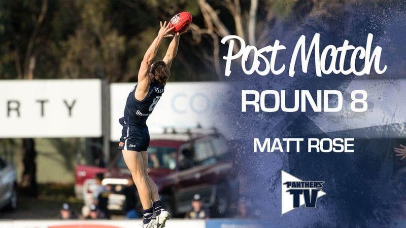 Panthers TV: Matt Rose - Post Match Round 8