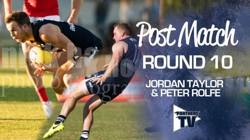 Panthers TV: Jordan Taylor & Peter Rolfe - Post match round 10