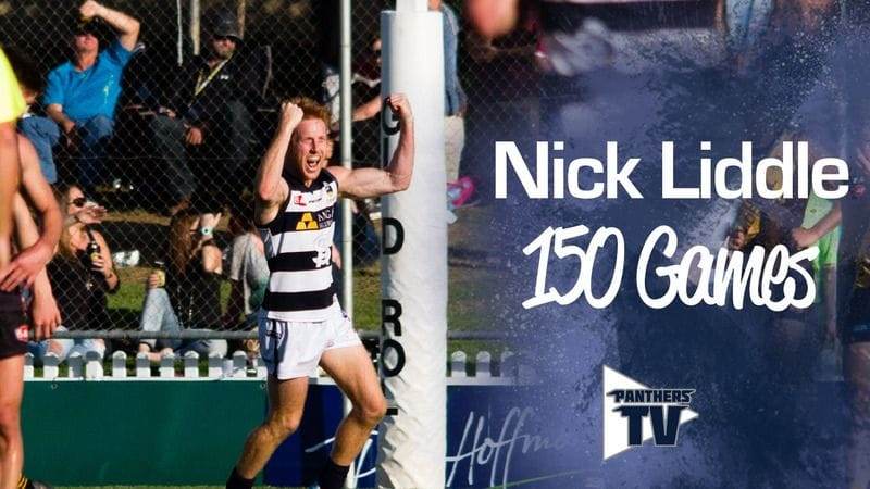 Panthers TV: Nick Liddle - 150 Games