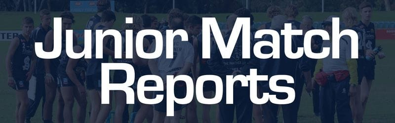 Juniors Report: Round 14 - South Adelaide vs West Adelaide