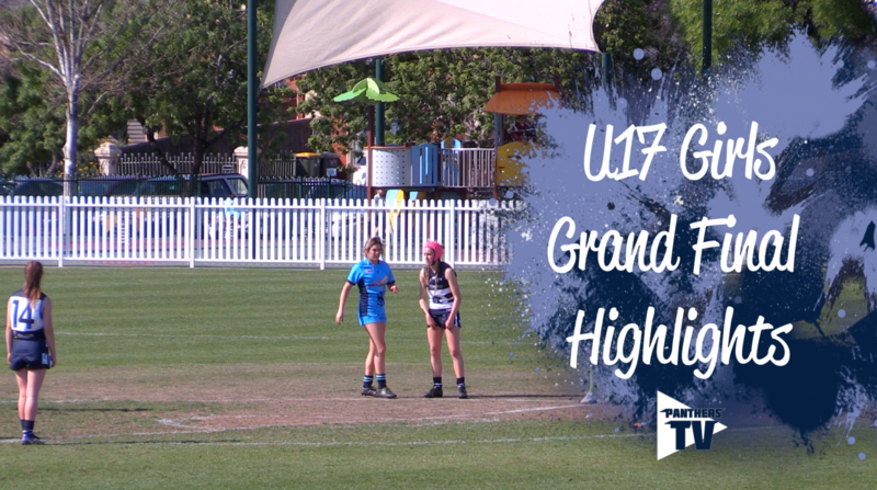 Panthers TV: SAFC U17 Girls Grand Final Highlights
