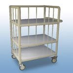 Laundry Corral Trolley 3 x shelf