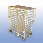 "The ""Whelan"" Double bay 20 x Tray service trolley"