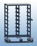 Double Bay 16 x tray service trolley