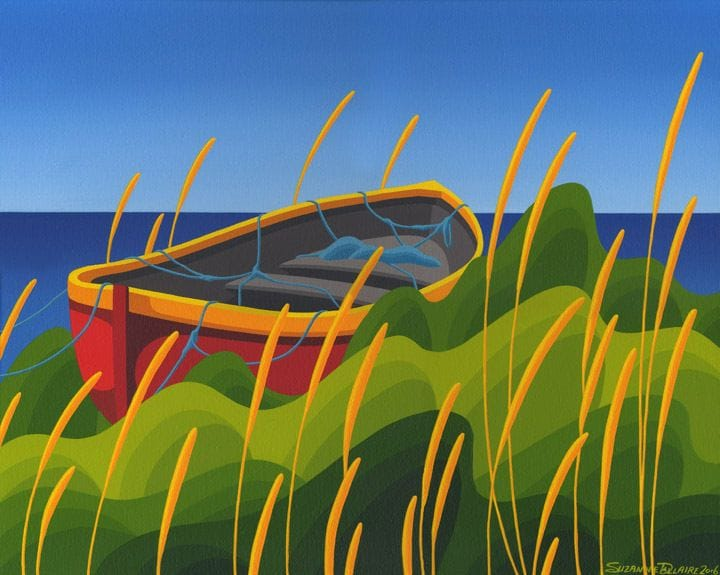 Dory in Yellow Grass