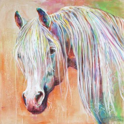 Sunset Dream Horse
