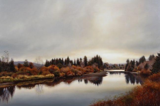 River Banks in October