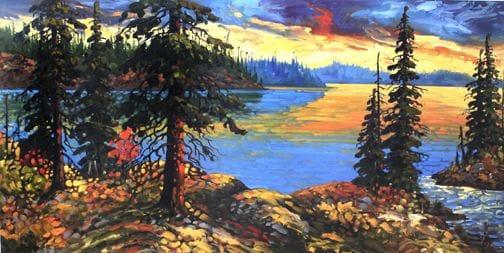 Northwest Sunset, NWT
