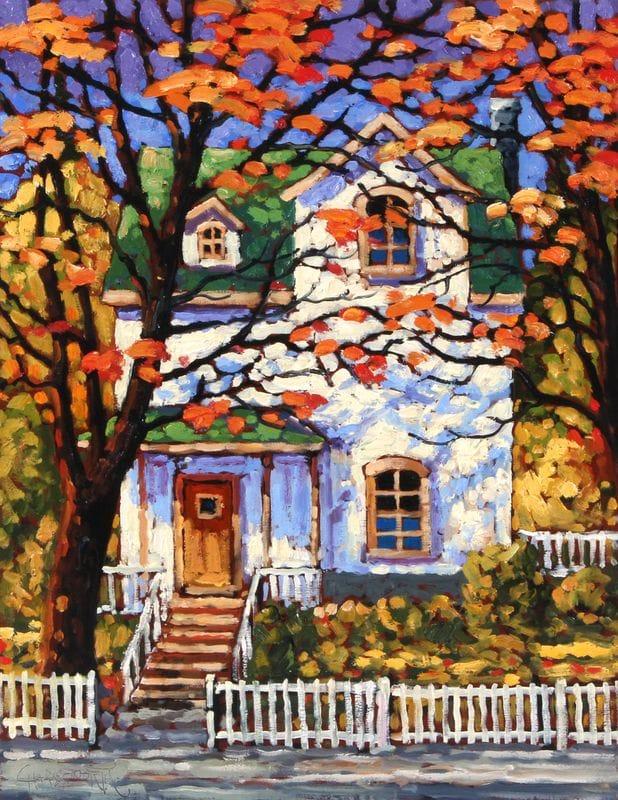 House with a Green Roof - Nova Scotia